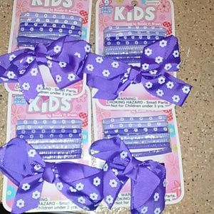 Other - FREE with purchase nwt 4 pc. girl hair accessories